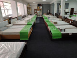 Фото кроватей на выставке в магазине на Орловской 4-6/ 2