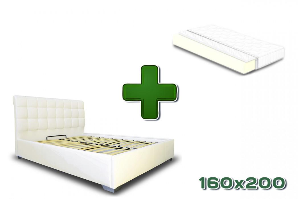 Ліжко Кантрі 160x200 з матрацом